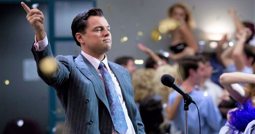 The Wolf of Wall Street film patron