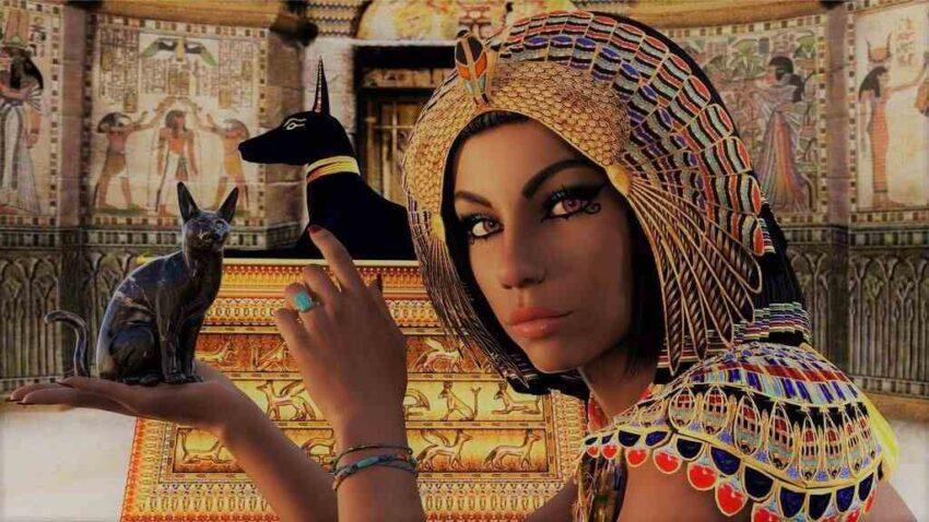 Kleopatra mısır sezar roma